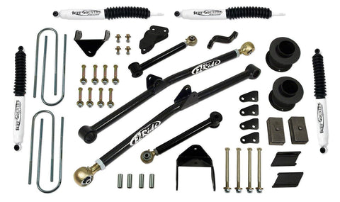 6 Inch Long Arm Lift Kit 09-13 Dodge Ram 2500 09-12 Dodge Ram 3500 with SX8000 Shocks Tuff Country
