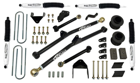 6 Inch Long Arm Lift Kit 07-08 Dodge Ram 2500/3500 w/ SX8000 Shocks Fits Vehicles Built July 1 2007 and Later Tuff Country