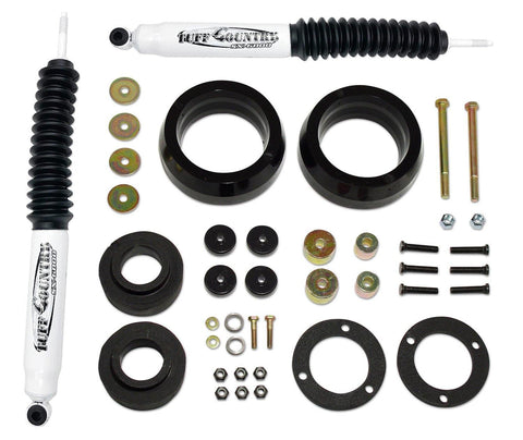 3 Inch Lift Kit 03-19 Toyota 4Runner 07-14 Toyota FJ Cruiser w/ SX6000 Shocks Excludes Trail Edition & TRD Pro Tuff Country