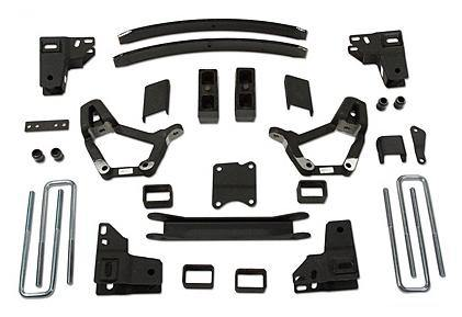 4 Inch Lift Kit 86-95 Toyota Truck 86-89 Toyota 4Runner Models with 2.5 Inch wide Rear u-bolts Tuff Country