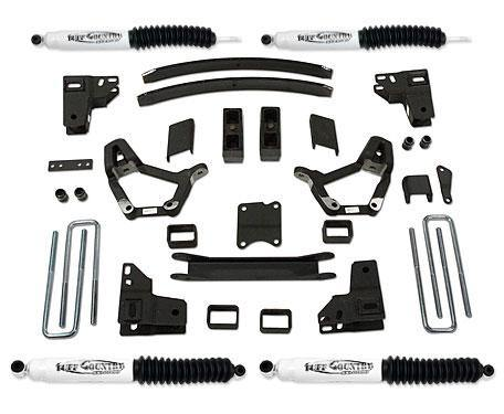 4 Inch Lift Kit 86-95 Toyota Truck 86-89 Toyota 4Runner w/ SX8000 Shocks Fits Models with 3.75 Inch wide Rear u-bolts Tuff Country