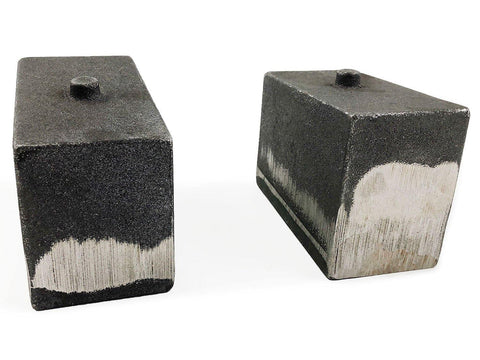 Image of 4 Inch Cast Iron Lift Blocks 03-13 Dodge Ram 2500 03-12 Dodge Ram 3500 4WD Pair Tuff Country