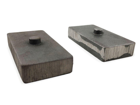 1 Inch Cast Iron Lift Blocks 13-18 Dodge Ram 3500 4WD Pair Tuff Country