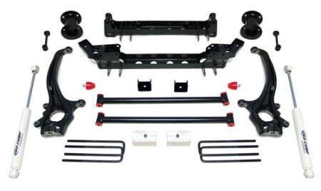 6 Inch Lift Kit with ES3000 Shocks 04-13 Nissan Titan Pro Comp Suspension - getliftkits.com - Pro Comp USA - K6001B-PRO, Lift Kits, new-121455, Pro Comp USA - Lift Kits