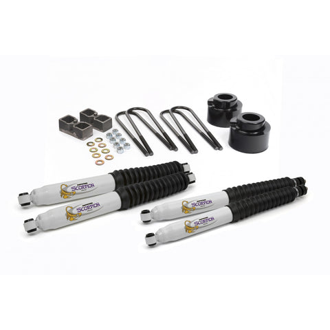 Daystar 05-17 Ford Super Duty 2.5 Inch Lift W/Shocks Daystar KF09051BK-BKCG-Lift Kits-Daystar-Get Lift Kits