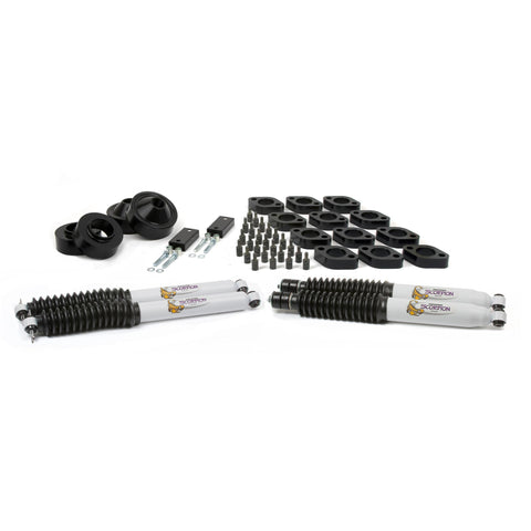 "Daystar 07-18 Jeep Wrangler JK 2.75 Inch Combo Kit W/Shocks KJ09161BK-2.75"" comb lift kit-Daystar-Get Lift Kits"