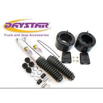 Daystar 13-18 Ram 3500 2WD and 14-18 RAM 2500 2WD 2 Inch Leveling Kit Front 2 Scorpion Shocks Included Daystar KC09137BK-BKCG-Leveling Kit-Daystar-Get Lift Kits