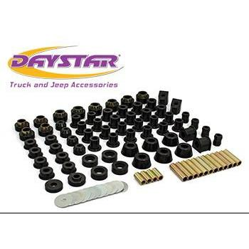 Daystar 80-86 Jeep CJ Super Kit Daystar KJ09003BK-BKCG-Body Mount Kit-Daystar-Get Lift Kits