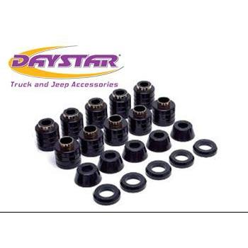Daystar 87-96 Jeep Wrangler YJ Body Mounts Daystar KJ04005BK-BKCG-Body Mount Kit-Daystar-Get Lift Kits