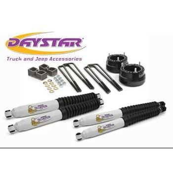 "Daystar 94-10 Dodge RAM 2500/3500 2 Inch Lift W/Shocks KC09129BK-2"" lift kit-Daystar-Get Lift Kits"