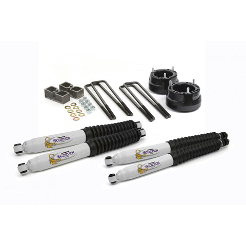 "Daystar 94-11 Dodge RAM 1500 Mega Cab 2 Inch Lift W/Shocks KC09123BK-2"" lift kit-Daystar-Get Lift Kits"