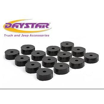 Daystar 97-05 Jeep TJ Body Mounts Daystar KJ04008BK-BKCG-Body Mount Kit-Daystar-Get Lift Kits