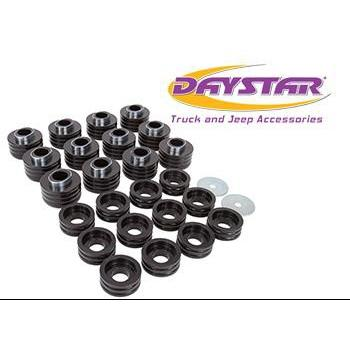 Daystar 99-05 Ford Excursion Body Mounts Black Daystar KF04051BK-BKCG-Body Mount Kit-Daystar-Get Lift Kits