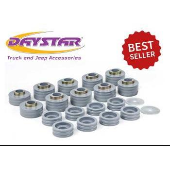 Daystar 99-18 Super Duty Body Mounts Kevlar Daystar KF04050KV-BKCG-Body Mount Kit-Daystar-Get Lift Kits
