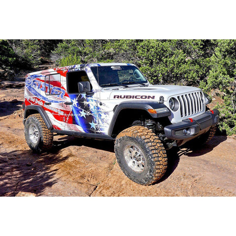 Daystar Jeep JL 3/4 Inch Lift Kit for 18-Present Wrangler JL Daystar KJ09181BK-BKCG-Lift Kits-Daystar-Get Lift Kits