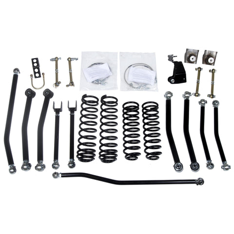 "Daystar Jeep Wrangler JK 3 inch Lift Kit Front and Rear KJ09175BK-3"" lift kit-Daystar-Get Lift Kits"