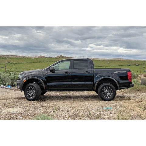 Image of Daystar Ranger 2 Inch Leveling Kit 19-Pres Ford Ranger Bolt On Daystar KF09151BK-BKCG-Leveling Kit-Daystar-Get Lift Kits