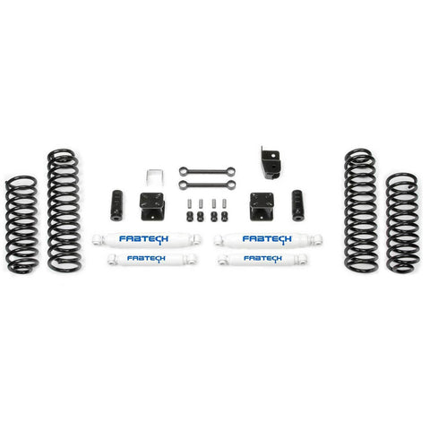 "Image of Fabtech 3"" Jeep JK Sport Lift Kit K4048 Fabtech Suspension lift kit 759.16 Get Lift Kits"