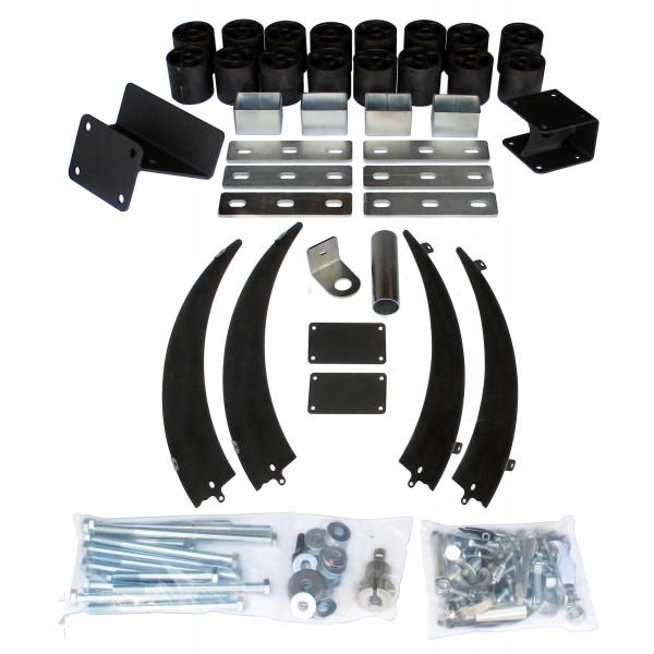 Performance Accessories 3 Inch Body Lift Kit 13 15 Ram 2500/3500 4WD Includes 2WD Radius Arm Suspension Gas PA60243-bfrp-Body Lift-Performance Accessories-Get Lift Kits