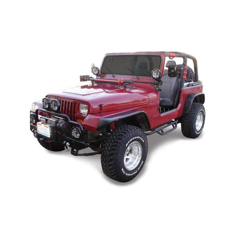 Performance Accessories Jeep YJ 3 Inch Body Lift Kit 87 95 Wrangler YJ w/Manual Trans 4WD Only Gas PA933-bfrp-Body Lift-Performance Accessories-Get Lift Kits