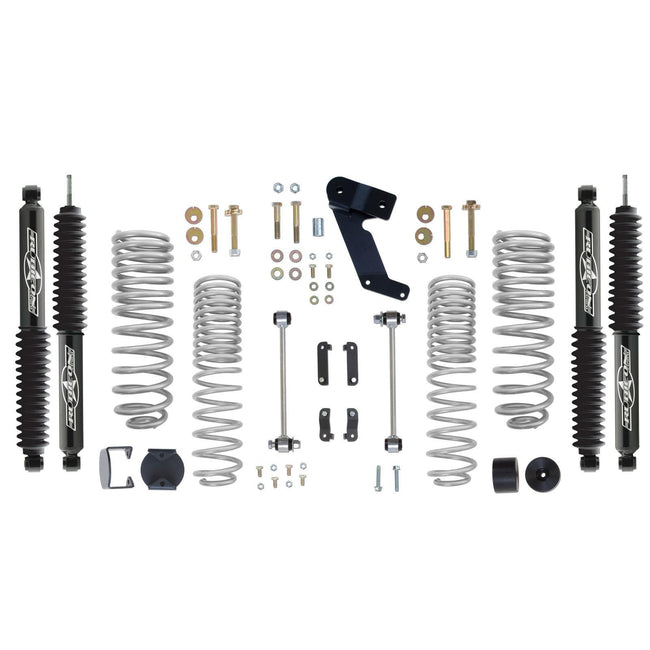Rubicon 2.5 Inch Progressive Coil Lift Kit with Twin Tube Shocks 07-12 JK RE7141PT-Lift Kits-Rubicon Express-Get Lift Kits
