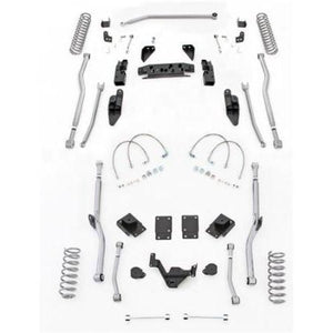 Rubicon 3.5 Inch JK Lift Kit Extreme Duty Long Arm 4 Link 07-18 JK 2 Dr JK4R23-Long Arm Lift Kits-Rubicon Express-Get Lift Kits