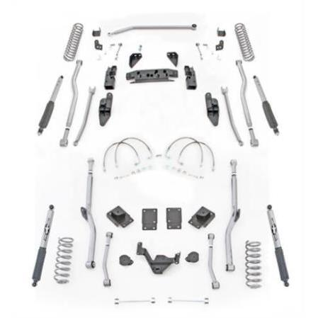Rubicon 3.5 Inch JK Lift Kit Extreme Duty Long Arm 4 Link 07-18 JK 2 Dr JK4R23M-Long Arm Lift Kits-Rubicon Express-Get Lift Kits