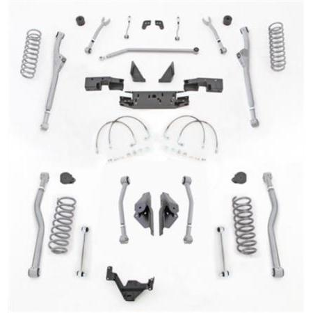 Rubicon 3.5 Inch JK Lift Kit Extreme Duty Long Arm 4 Link Rear 07-18 JK 2 Dr JKR423-Long Arm Lift Kits-Rubicon Express-Get Lift Kits