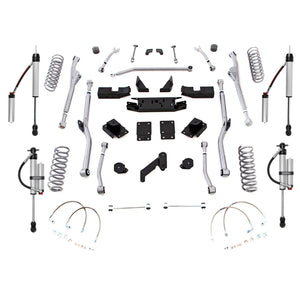 Rubicon 3.5 Inch Long Arm Lift Kit with Monotube Reservoir Shocks 07-18 JK 2 Door JKRR23MR-Lift Kits-Rubicon Express-Get Lift Kits