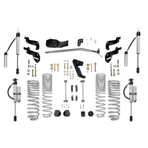 Rubicon 3.5 Inch Sport Lift Kit with Monotube Reservoir Shocks 07-18 JK 4 Door RE7145PMR-Rubicon Express-Get Lift Kits