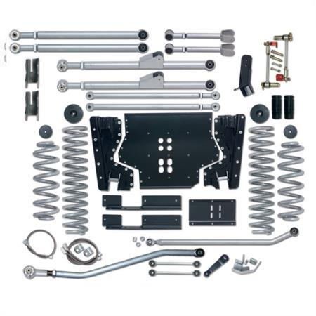 Rubicon 3.5 Inch TJ Lift Kit Extreme Duty Long Arm 03-06 TJ RE7213-Long Arm Lift Kits-Rubicon Express-Get Lift Kits