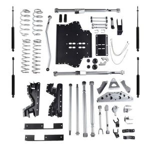 Rubicon 4.5 Inch TJ Tri Link Long Arm W/Twin Tube Shocks 97-02 TJ RE7504T-Long Arm Lift Kits-Rubicon Express-Get Lift Kits