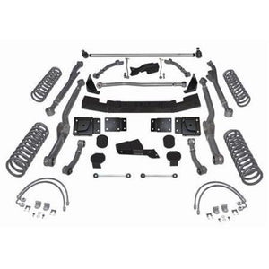 Rubicon 5.5 Inch 3 Link Lift Kit Upgrade Long Arm Rear 07-18 JK/JKU Extreme Duty RE7333-Three Link Kits-Rubicon Express-Get Lift Kits