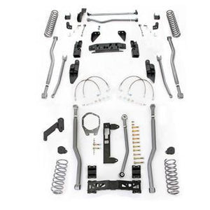 Rubicon 5.5 Inch Extreme Duty 4-Link 3-Link Long Arm Lift Kit JK4345-Lift Kits-Rubicon Express-Get Lift Kits