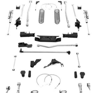 Rubicon 5.5 Inch Extreme Duty 4-Link Long Arm Lift Kit with Shocks JK4425R-Lift Kits-Rubicon Express-Get Lift Kits