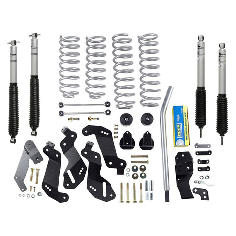 Rubicon JK Lift Kit 3.5 Inch Sport W/Mono Tube Shocks 07-18 JKU 4 Dr RE7145M-Lift Kits-Rubicon Express-Get Lift Kits