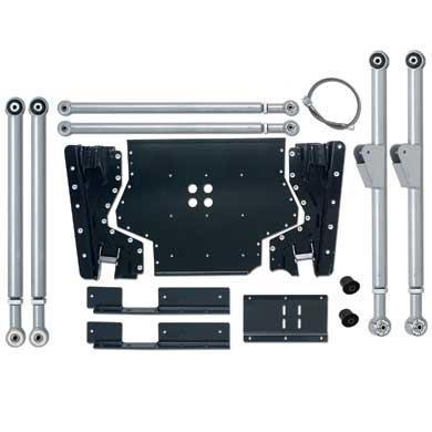 Rubicon TJ Long Arm Upgrade Kit Extreme Duty W/Rear UpPres 03-06 TJ RE7231-Long Arm Upgrade Kits-Rubicon Express-Get Lift Kits