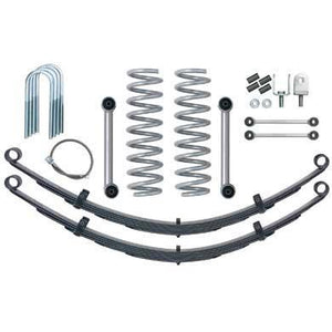 Rubicon XJ Lift Kit 3.5 Inch Super Ride W/Full Leaf Springs 84-01 XJ RE6025-Lift Kits-Rubicon Express-Get Lift Kits