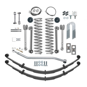 Rubicon XJ Lift Kit 4.5 Inch Super Flex Rear Add A Leaf 84-01 XJ RE6111-Lift Kits-Rubicon Express-Get Lift Kits