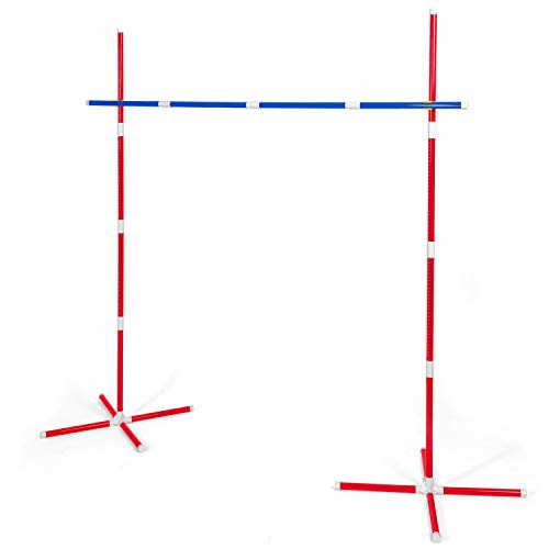 Play Platoon Limbo Game for Adults & Kids - Limbo Stick Yard Game Set for Outdoor Luau Party