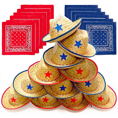 Play Platoon Cowboy Party Hats for Kids