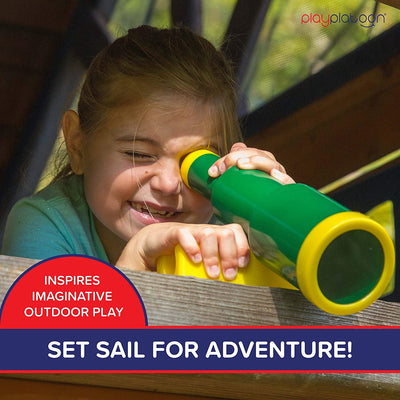 Playground Pirate Telescope for Kids - Equipment Accessory for Jungle Gym or Swing Set