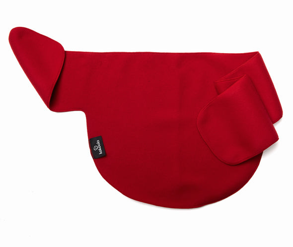 babywearer scarff or baby-carrier red