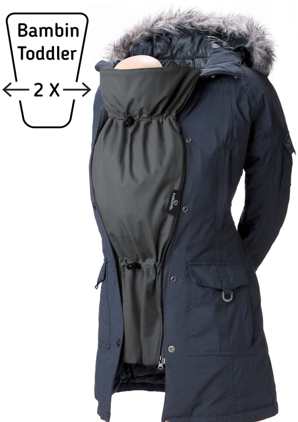 The Original Toddler Coat Extender - Babywearing - Noir