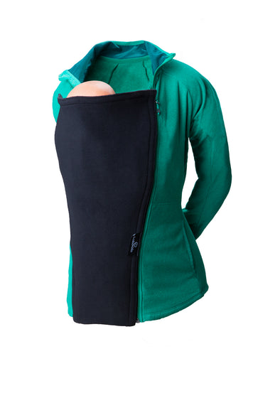 Fleece Maternity Coat Extender - Black
