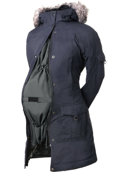 Maternity Coat Extender - Pregnancy - Deluxe Black