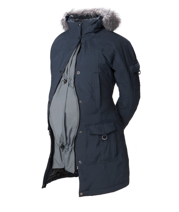 The Original Coat Extender - Pregnancy - Grey