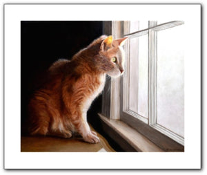 Purrfect View Giclee Prints