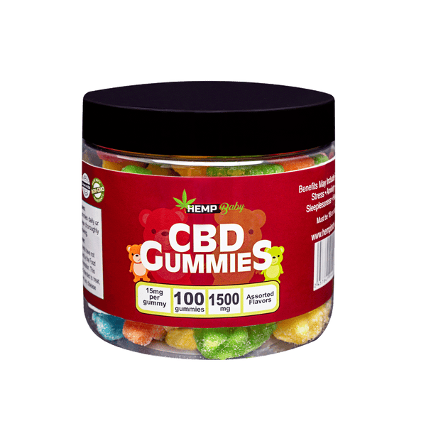 CBD Original  Gummies 100ct - HempBaby
