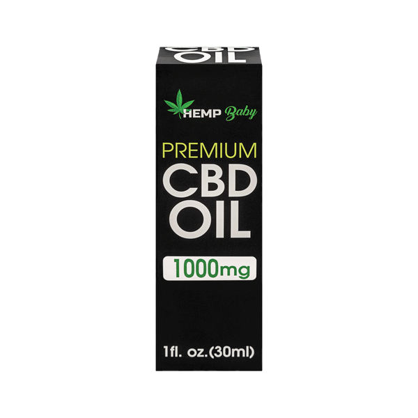 CBD Oil 1000MG - HempBaby